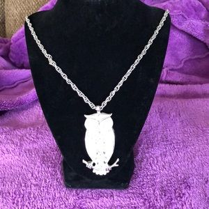 Jewelry - PARKLANE OWL NECKLACE  20 inches